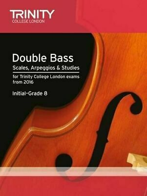 Trinity College Double Bass Scales & Exercises from 2016 - Same Day P+P