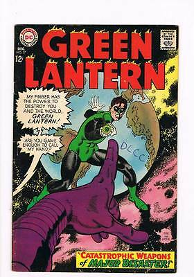Green Lantern # 57 Catastrophic Weapons of Major Disaster ! grade 4.5 scarce !!