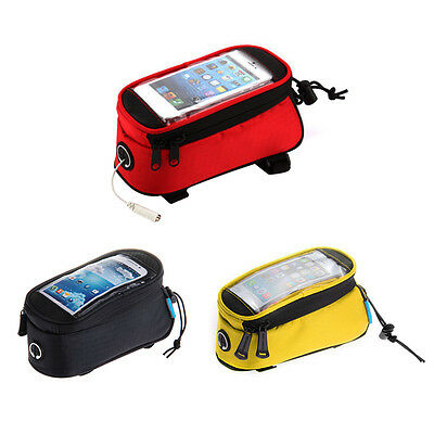 ROSWHEEL  Y5G Bike Bicycle Top Tube Cell Phone Smartphone Cycling Bag Pouch Case