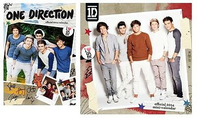 ONE DIRECTION 2014 Kalender (1D) 2 Designs