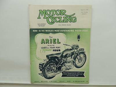 0145 1953-1955 Ariel 4G MkII Square four owners guide