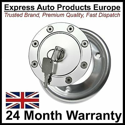 Aero Alloy Locking Fuel Filler Cap & Beauty Ring VW Golf Mk1 Cabriolet
