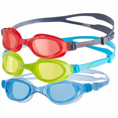 Speedo Futura Plus Kids Swimming Goggles UV Protection Anti-fog Junior Age 6-14