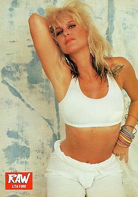 Lita Ford              Poster    / Picture (MN 38 )