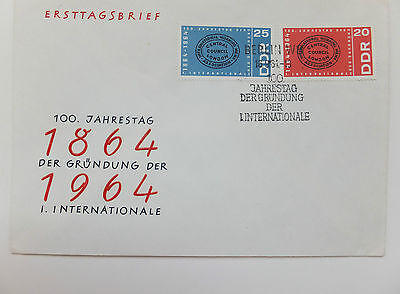 Ersttagsbrief  - FDC - ETB - DDR - Die Internationale - Nr. 1054 - 1055