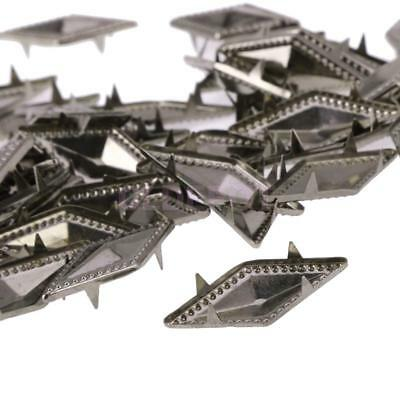 Clothing Spike Leather Craft Rivets Punk Rhombus Studs for Embellishment