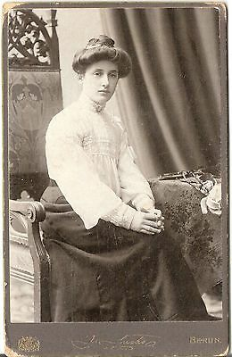 CAB photo Feine Dame - Berlin 1900er
