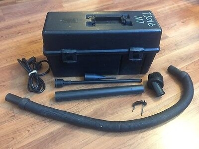 3M Electronics Vacuum Model 497 Working Condition Toners & Dust With Attachments