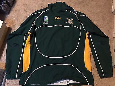 Springbok Sevens Rugby South Africa World Cup 2009 Jacket Paul Delport Worn PD 9