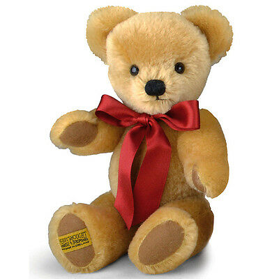 Merrythought London Classic Gold Teddy Bear - 25cm / 10 inches - GM10LG