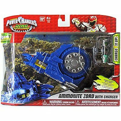 Power Rangers Dino Super Charge Ammonite Zord with Charger  *BRAND NEW*