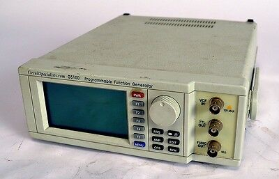 Circuit Specialists G5100 Programmable Sweep/Function Generator