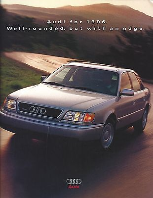 Auto Brochure - Audi - Product Line Overview - 1996  (A1170)