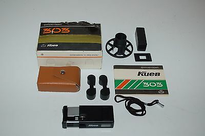 Kiev 303 Sub Miniature Camera. Full Kit. Good Condition. Boxed. 1990. No.9050127
