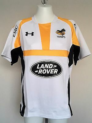 Wasps 2015/16 S/s Alternative Rugby Jersey By Under Armour Size Adults Small
