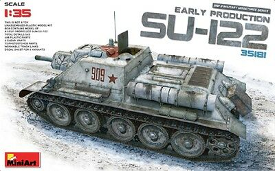 MINIART #35181 SU-122 Early Production in 1:35