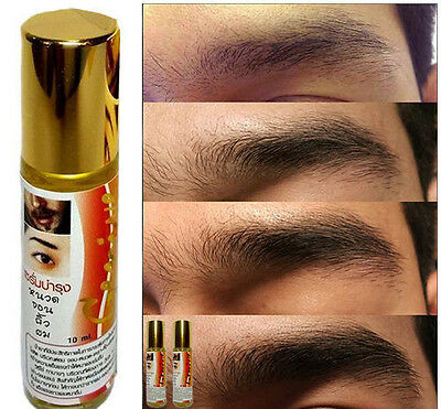 10ml GENIVE Natural Stimulating Thicker Hair Growth Eyebrows Mustache Sideburns