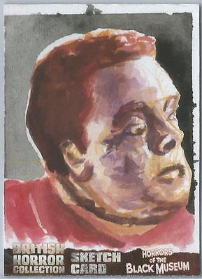 British Horror Collection Sketch Card created by Edgar Hernandez [ 1 ]