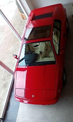 1990 Lotus Esprit X180 **GENUINE 20,000 MILES FROM NEW**CALYPSO RED WITH CREAM*