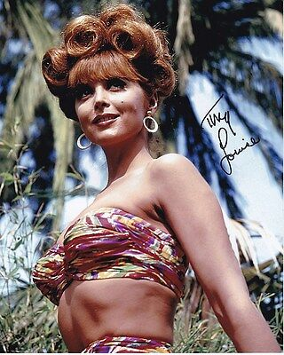 Tina Louise Signed Autographed 8x10 Gilligan's Island Ginger Grant Photograph