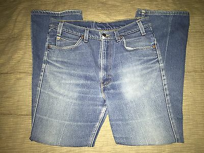 Vintage MEN'S LEVIS Orange Tab Boot Cut Jeans 34x30 Made In USA