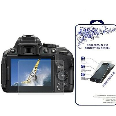 Ballistic Tempered Glass Screen Protector For Nikon D5300 / D5500 Camera LCD
