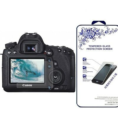 Ballistic Tempered Glass Screen Protector For Canon EOS 7D Mark II / 70D / 80D