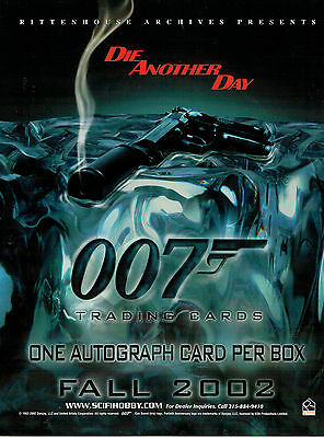 James Bond Die Another Day Sell Sheet