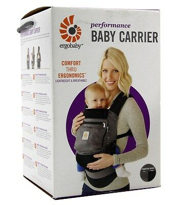 Ergobaby Cool Air Mesh 3 Position Baby Carrier Charcoal Grey