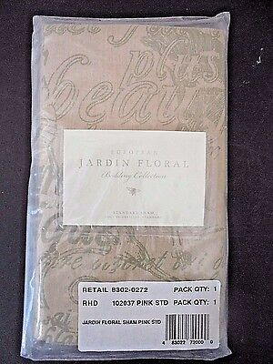 Restoration Hardware Baby & Child One Standard Pillow Sham Jardin French Country