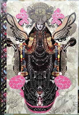 CHRISTIAN LACROIX LAYFLAT NOTEBOOK VIRGIN ~ 128 PAGES RULED ~ 6 x 8.5 INCHES NEW