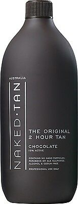 "NAKED TAN Professional 2HR 15% ""Chocolate"" 1 Litre"