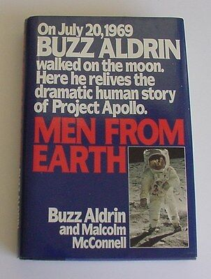 Men From Earth by Buzz Aldrin HC/DJ/SIGNED
