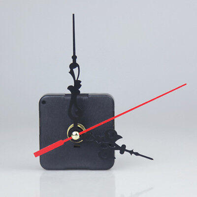 Wall  Clock Quartz Movement Mechanism Black Hand DIY Replacement Part Set