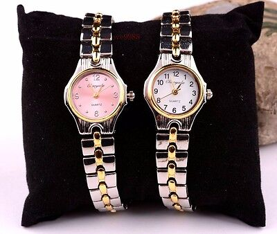 Fashion 10 pcs Womans Girls Lady casual Steel wrist Watches 4 colors GS24