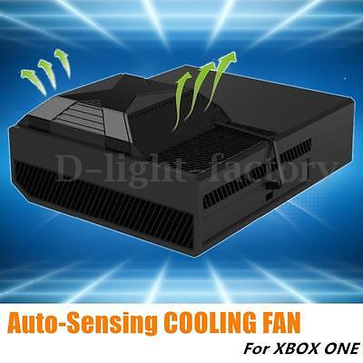 For Xbox One Intercooler Device Temperature Down USB Cooler Clip On Cooling Fan