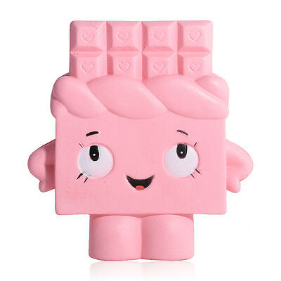 Cartoon Pink Girl Squishy Soft Fun Toy Slow Rising Collect Ballchains Cute