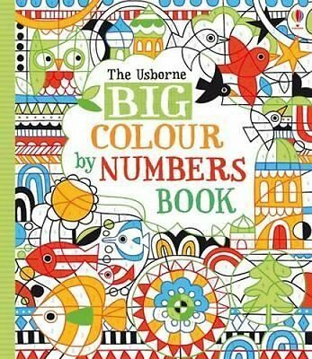 Big Colour by Numbers Book by Fiona Watt 9781409566540 (Paperback, 2013)