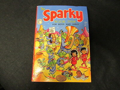Good 1111111111 Hardcover The Sparky Book for Boys and Girls 1969 (Annual)