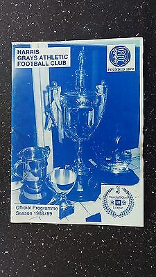 Grays Athletic V Dudley Town 1988-89.