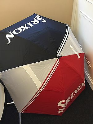 "SRIXON GOLF UMBRELLA inc case 62 "" Span LARGE - WINDJAMMER - NEW"