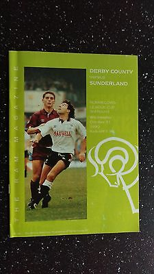 Derby County V Sunderland 1990-91