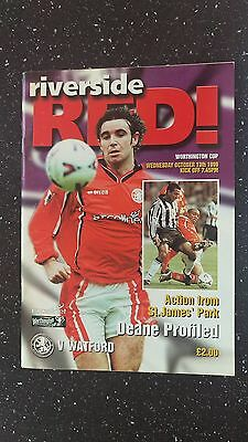 Middlesbrough V Watford 1999-00