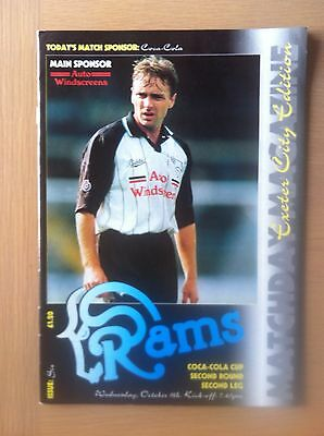 Derby County V Exeter City 1993-94