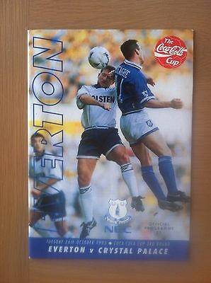Everton V Crystal Palace 1993-94