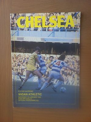 Chelsea V Wigan Athletic 1984-85