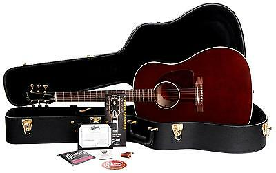 B-Ware Gibson J-45 Flamed Maple Westerngitarre Limited Edition Massive Fichte