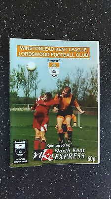 Lordswood V Corinthian 1997-98