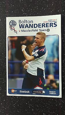 Bolton Wanderers V Macclesfield Town 2011-12