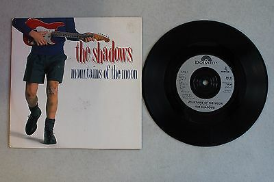 1989 The Shadows Mountains Of The Moon / Stack-It 45 Polydor Po 47 Uk Import